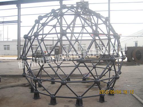 焊接球网架 -焊接球 - 徐州凯旭钢结构